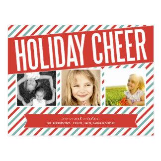RETRO HOLIDAY CHEER | HOLIDAY PHOTO CARD