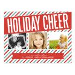 RETRO HOLIDAY CHEER | HOLIDAY PHOTO CARD POST CARD