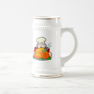 Retro Home Cooking Design. Add Your Own Text. Beer Stein