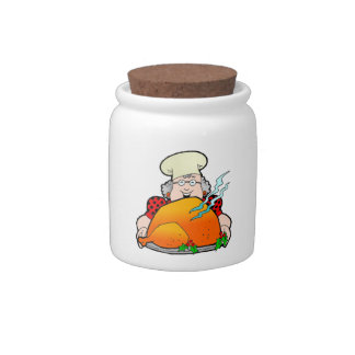 Retro Home Cooking Design Add Your Own Text Candy Jars