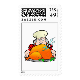 Retro Home Cooking Design. Add Your Own Text. Stamp