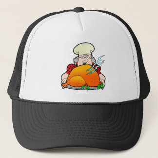 Retro Home Cooking Design. Add Your Own Text. Trucker Hat