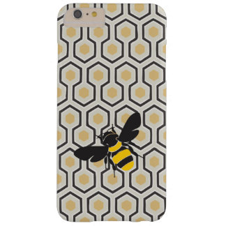 Retro Honeycomb Pattern Beehive Barely There iPhone 6 Plus Case
