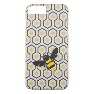 Retro Honeycomb Pattern Beehive iPhone 7 Plus Case