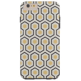 Retro Honeycomb Pattern Beehive Tough iPhone 6 Plus Case