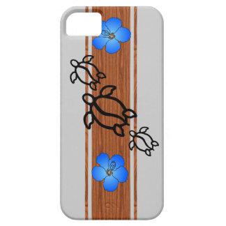 Retro Honu Surfboard iPhone 5 Cases