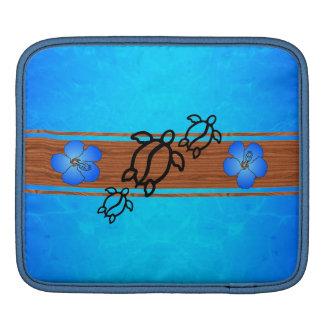 Retro Honu Surfboard Sleeve For iPads