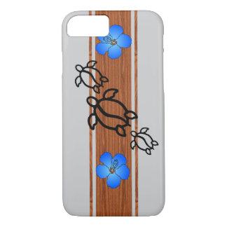 Retro Honu Surfboard iPhone 7 Case