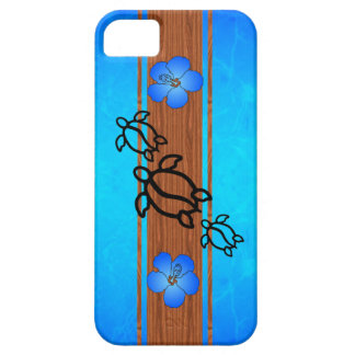 Retro Honu Surfboard iPhone SE/5/5s Case