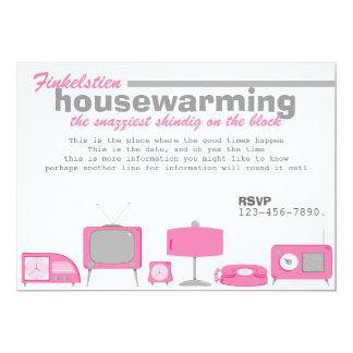 Retro Hot Pink Electronics Card