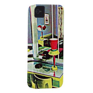 Retro Hotel Room iPhone 4 Cases