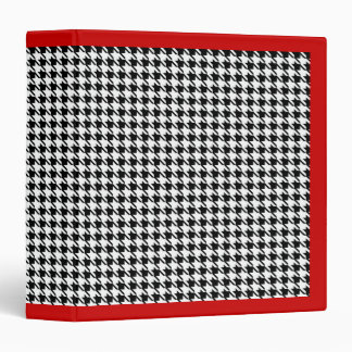 Retro Houndstooth Teacher's Binder Folder