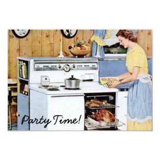 Retro Housewarming Party V2 Card