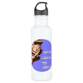 Retro Housewife 5 (Choose Sz, Color) Water Bottle