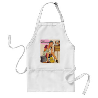 Retro Housewife Anniversary Apron