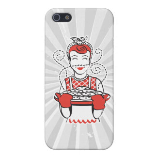 retro housewife baker cover for iPhone SE/5/5s