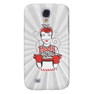 retro housewife baker galaxy s4 case