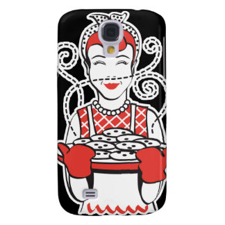retro housewife baker samsung galaxy s4 cover