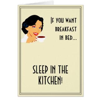 Retro Housewife Card