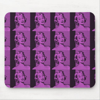 Retro Housewife Mouse Pads