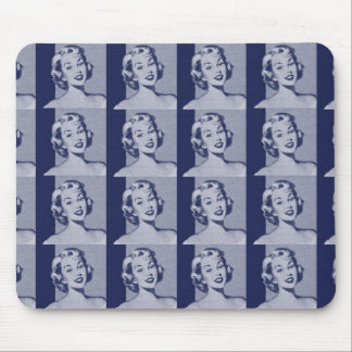 Retro Housewife Mouse Pad
