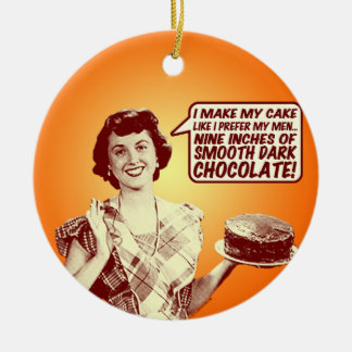 Retro Housewife Ornament
