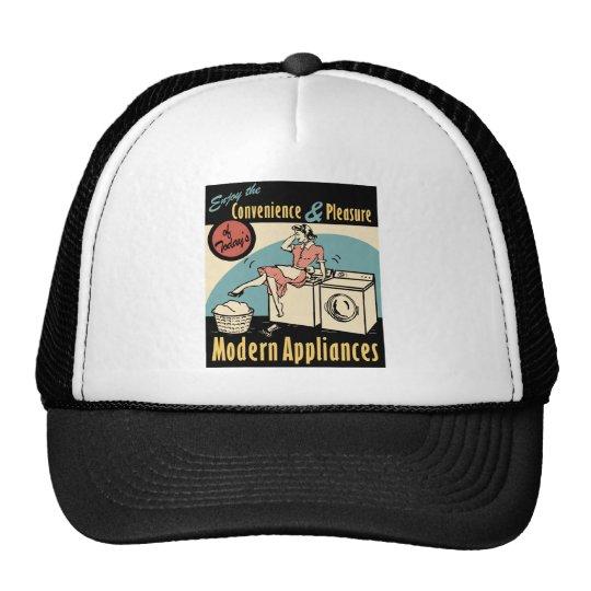 Retro Housewife Washer Dryer Trucker Hat