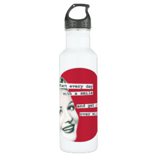 Retro Housewife Water Bottle(Choose Size, Color) Stainless Steel Water Bottle
