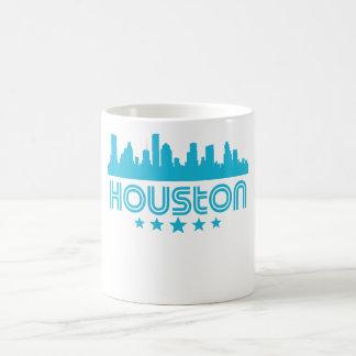 Retro Houston Skyline Coffee Mug