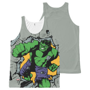 3fabe718c5569 Retro Hulk Smash! All-Over-Print Tank Top