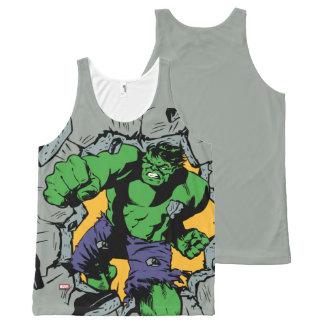 Retro Hulk Smash! All-Over-Print Tank Top