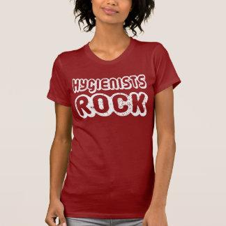 Retro Hygienists Rock T Shirt