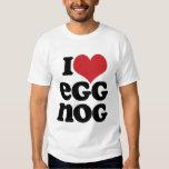 Retro I Love Eggnog Tee