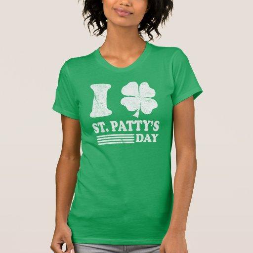 Retro I Love St. Patrick's T Shirt