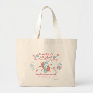 Retro Ice Cream & Candy Shoppe Large Tote Bag
