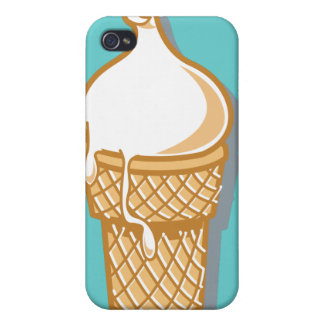 retro ice cream cone case for iPhone 4