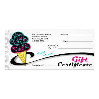 Retro Ice Cream Cone - Gift Certificates