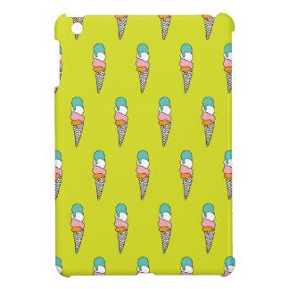 Retro ice cream summer iPad mini case