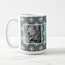 Retro Ikat Tribal Pattern | LOVE with Photos Coffee Mug