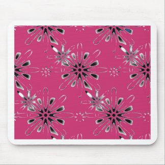 Retro in PInk Mouse Pad