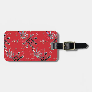 Retro in Red Luggage Tag