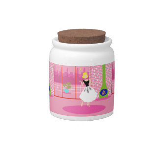 Retro In the Pink Candy Jar