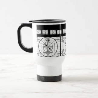 Retro Indian Head Test Pattern Travel Mug