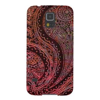 Retro Indian Paisley Galaxy S5 Cases