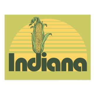 Retro Indiana Postcard