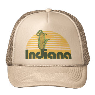 Retro Indiana Trucker Hat