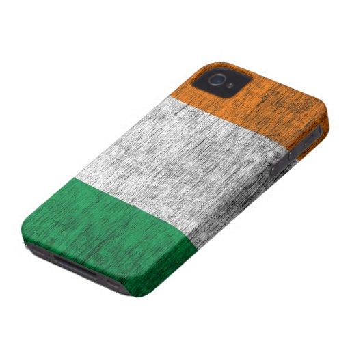 Retro Irish Flag (Dark) iPhone 4/4S Case