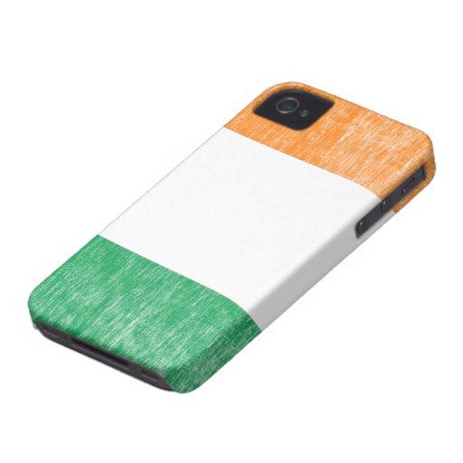 Retro Irish Flag iPhone 4/4S Case