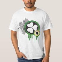 retro irish st paddys day T-Shirt