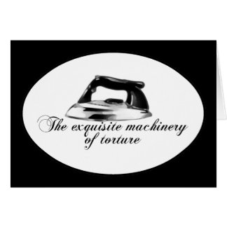 Retro Iron - The Exquisite Machinery Of Torture Card